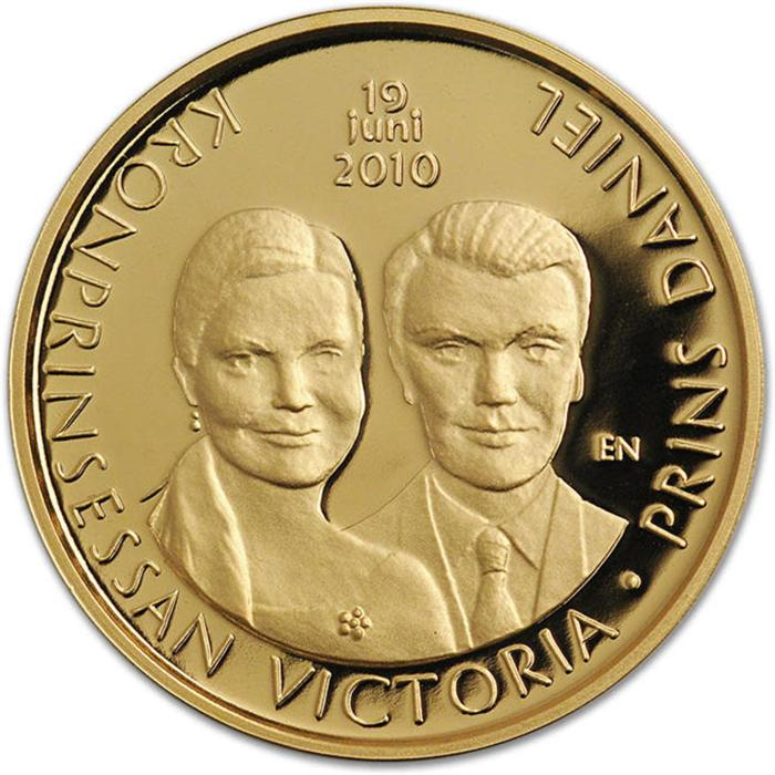 Svenska Guldmynt 4000 kr 2010