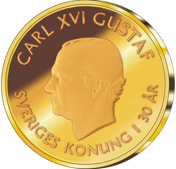 Svenska Guldmynt 2000 kr 2001-2008