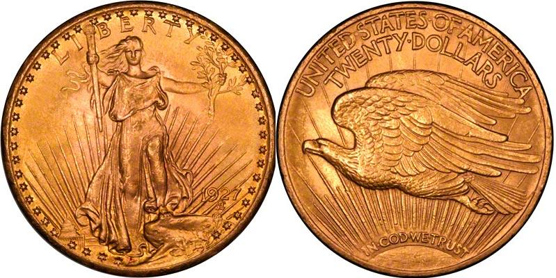 UTLÄNDSKA Guldmynt USA Double Eagles - Gold $20 1849-1933