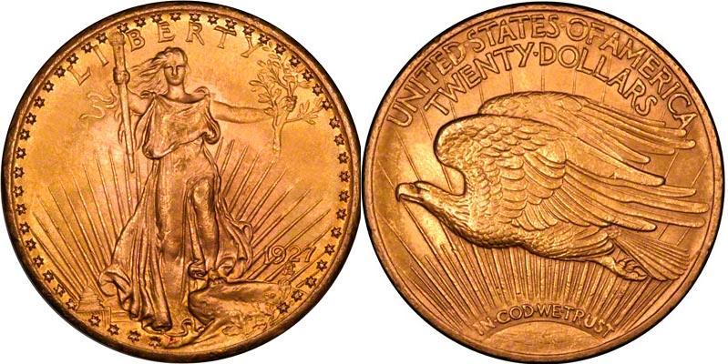 UTLÄNDSKA Guldmynt USA Double Eagles - Gold $20 1849-1933