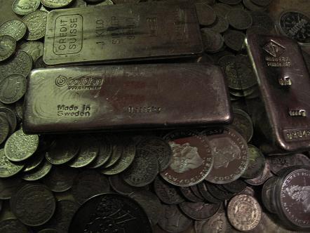 UTLÄNDSKA Silvermynt 1 kilo SILVERTACKA  BOLIDEN